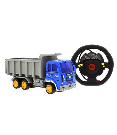 Camion-Azul-R-C-Truck