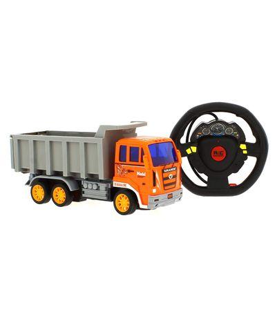 Camion-Naranja-R-C-Truck