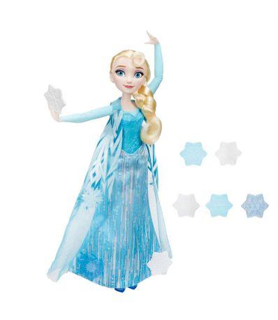 Elsa-Reine-des-Neiges-Flocons-Magiques