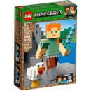 Lego-Minecraft-Alex-con-Gallina