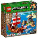 Lego-Minecraft-la-Aventura-del-Barco-Pirata
