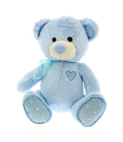 Ours-en-peluche-50-cm-Bleu