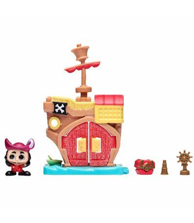 Disney-Doorables-Mini-Casa-Capitan-Hook