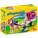 Playmobil-123-Carruaje-de-Caballos