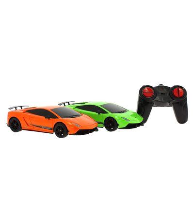 Dois-Lamborghini-Gallardo-RC-Escala-1-24
