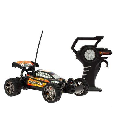 Carro-de-velocidade-RC-Laranja-escala-1-18