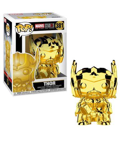 Figura-Funko-POP--Thor-Cromado-Oro