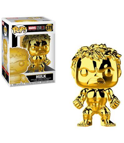 Figura-Funko-POP--Hulk-Cromado-Oro
