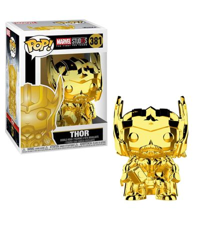 Figura-do-Funko-POP--Thor-Chrome-Gold