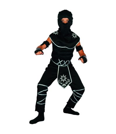 Disfraz-Ninja-Negro-Niño