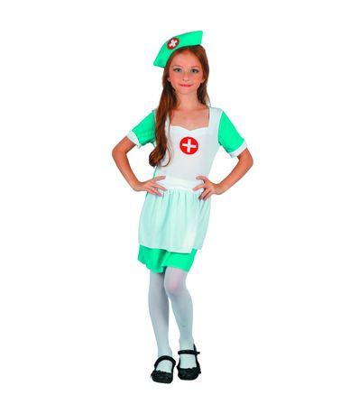Disfraz-Enfermera-Niña
