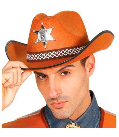 Sombrero-Sheriff-Marron