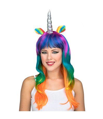 Peruca-Unicornio-Arco-iris