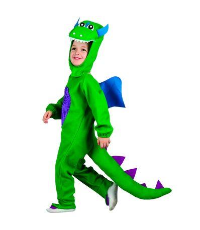 Disfarce-Dinosauro-Verde