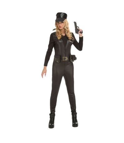 Swat-Police-Fille-Costume-XS