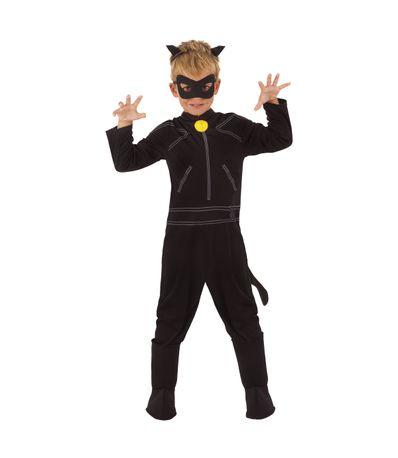 Chat-Noir-Coccinelle-Costume-avec-accessoires