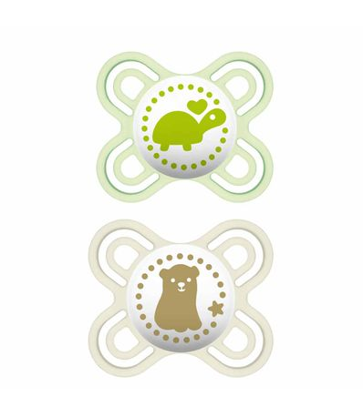 Pack-2-Chupetes-Perfect-Silicona-0-2-Meses-Verde