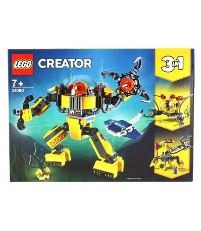 Lego-Creator-Submarine-Robot