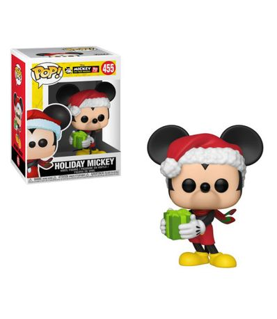 Figura-Funko-POP--Mickey-Navideño