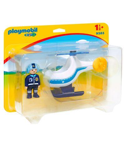 Playmobil-123-Helicoptero-de-Policia