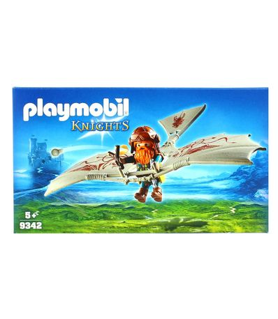 Playmobil-Knights-Gnomo-con-Maquina-Voladora