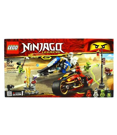 Lego-Ninjago-Moto-Acuchilladora-de-Kai-y-Motonieve
