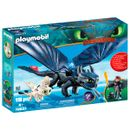 Playmobil-Dragons-Hipo-Sans-Dents-et-Bebe-Dragon