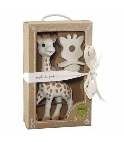 Conjunto-de-Teether-Hevea---Sophie-La-Girafe