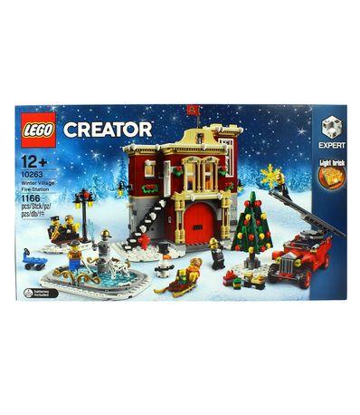 Lego-Creator-Expert-Parque-de-Bomberos-Navideño