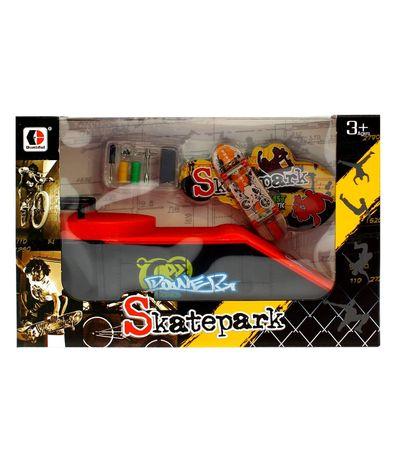 Skate-Park-Pequeño-Rampa-Power-Board