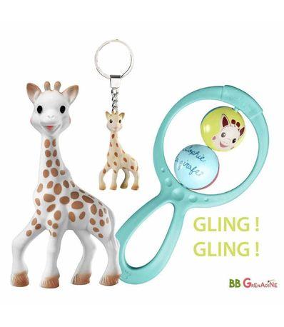 Conjunto-de-chocalho---chaveiro---mordedor-Sophie-La-Girafe