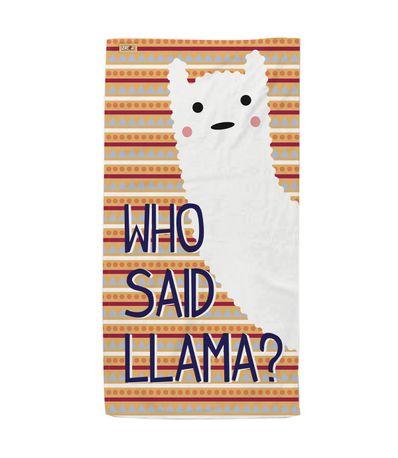 Toalla-Who-Said-Llama-