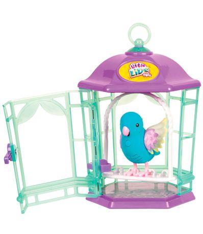 Little-Live-Pets-Passaro-Azul-Brilho-com-Gaiola