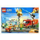 Hamburger-de-secours-de-sauvetage-de-ville-de-Lego