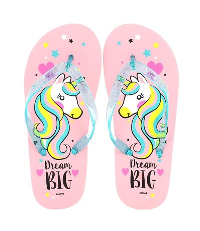 Chanclas-Unicornio-Dream-Big