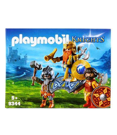 Playmobil-Knights-Rey-de-los-Gnomos