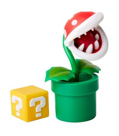 Mario-Bros-Figura-Planta-Piraña-con-Bloque
