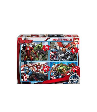Puzzles-multi-Avengers