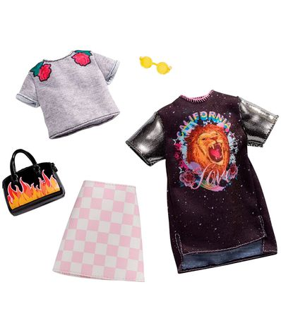 Barbie-Pack-2-Looks-Rock-et-Rose