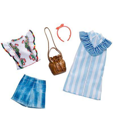 Barbie-Pack-2-Looks-Floral-Stripes