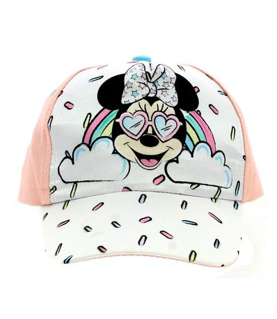 Minnie-Mouse-Gorra-Arcoiris-Rosa