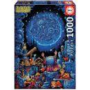 Puzzle-el-Astrologo-Neon-1000-Piezas