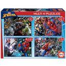 Spiderman-Multi-4-Puzzles
