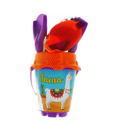 Seau-de-plage-lama-avec-accessoires
