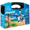 Playmobil-Knights-Maletin-Entrenamiento-Caballero