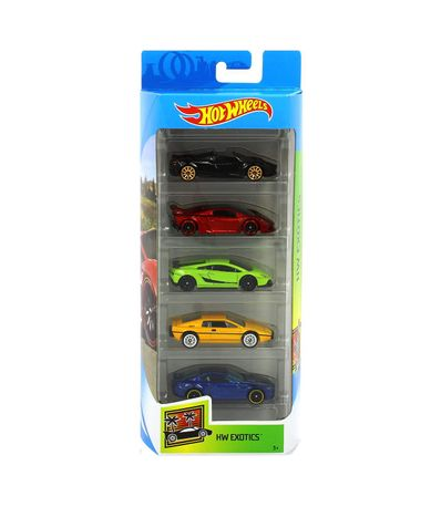 Hot-Wheels-Pack-5-Vehiculos-Exotic