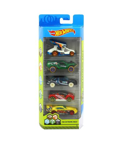 Hot-Wheels-Pack-5-Vehiculos-Extreme