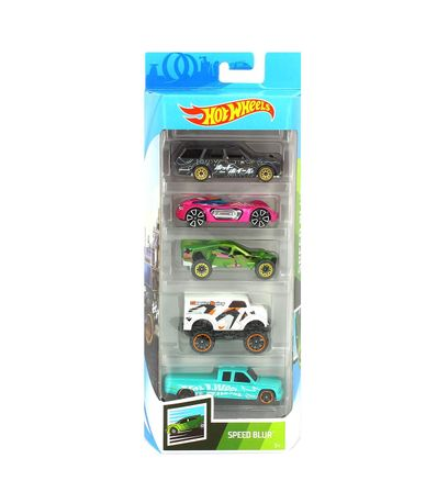 Hot-Wheels-Pack-5-Vehiculos-Blur