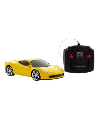 Coche-Model-3D-Amarillo-R-C-1-24