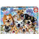 Puzzle-Mascotas-Selfie-500-Piezas